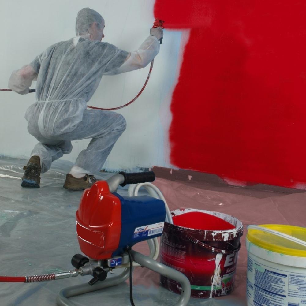 сколько компрессор для покраски стен и потолков