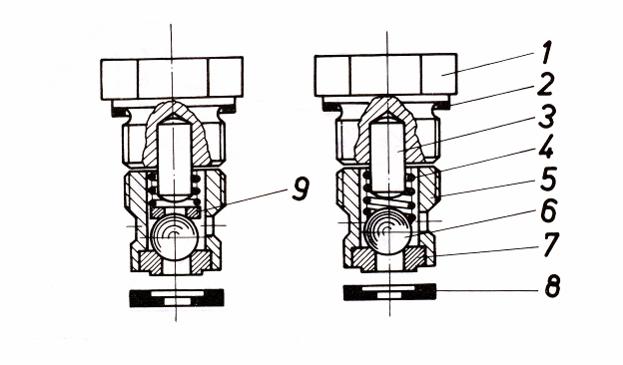 Нагнетательный клапан подходит к Вагнер 7000, 2600, Финиш 207, 211, SINAER